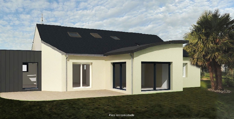 Plan maison 3d pour extension de maison vanessa garnier for Extension de maison