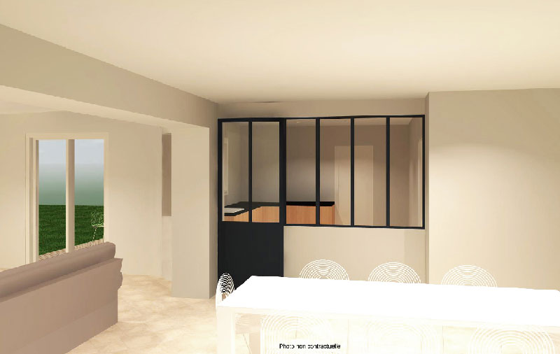 plan maison int rieur pour agencement maison nantes vanessa garnier. Black Bedroom Furniture Sets. Home Design Ideas